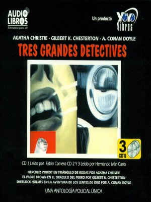cover image of Tres Grandes Detectives