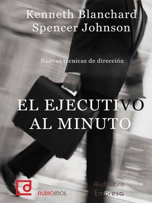 cover image of El ejecutivo al minuto