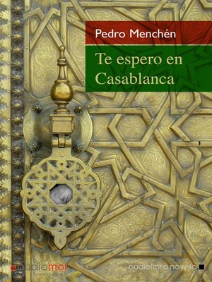 cover image of Te espero en Casablanca