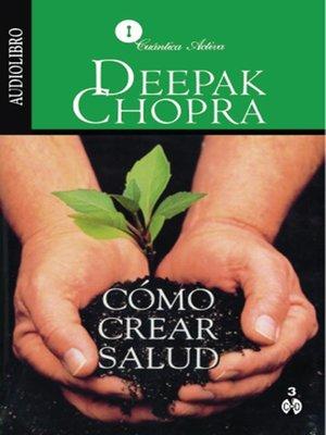 cover image of Cómo Crear Salud