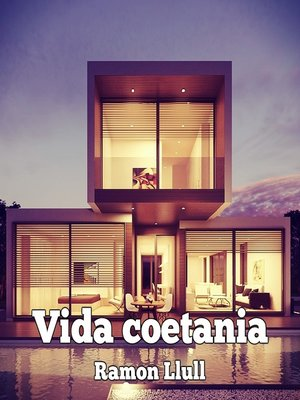 cover image of Vida coetánia