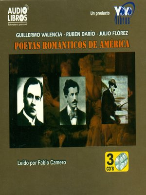 cover image of Poetas Romanticos de America