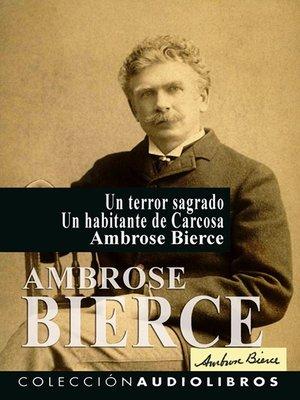 cover image of Un terror sagrado Un habitante de Carcosa