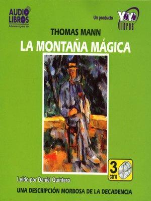 cover image of La Montaña Magica