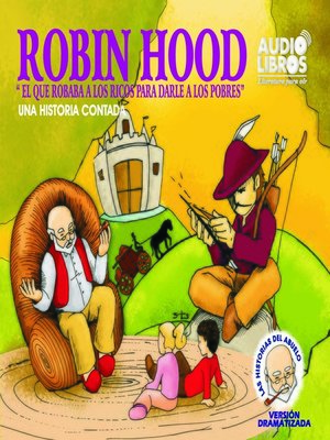 cover image of Cuentos del Abuelo Robin Hood