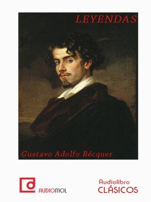 cover image of Leyendas de Bécquer