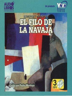 cover image of El Filo de la Navaja