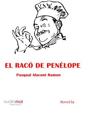 cover image of El racó de Penélope
