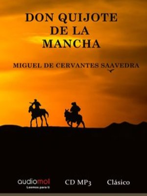 cover image of Don Quijote de la Mancha