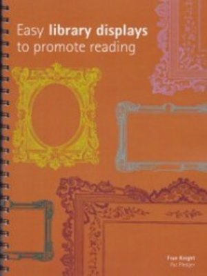 cover image of Easy library displays to promote reading