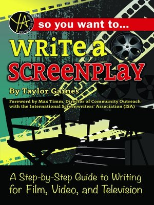 cover image of So You Want to Write a Screenplay