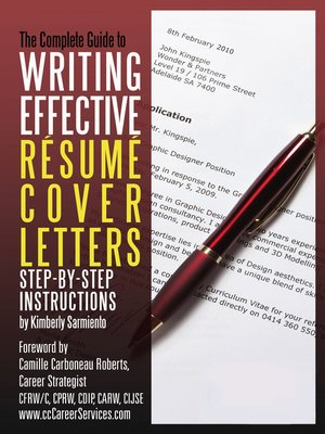 The Complete Guide To Writing Effective R Sum Cover Letters By