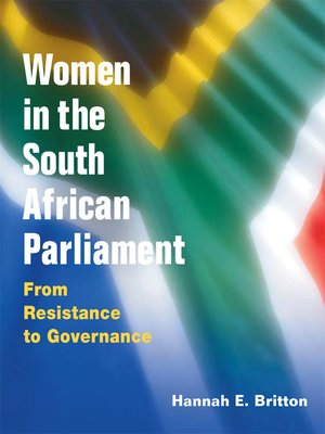 cover image of Women in the South African Parliament