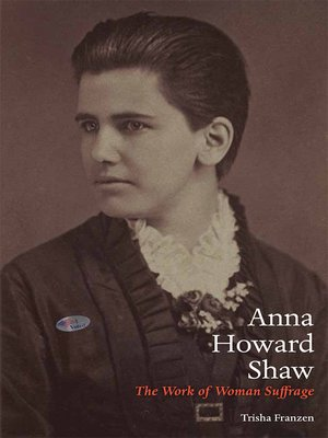 cover image of Anna Howard Shaw