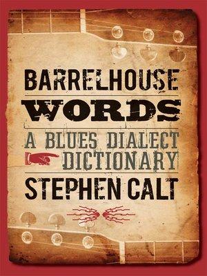 cover image of Barrelhouse Words