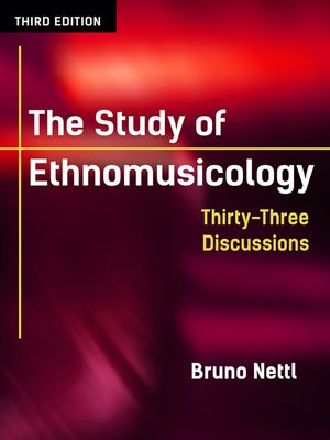 cover image of The Study of Ethnomusicology