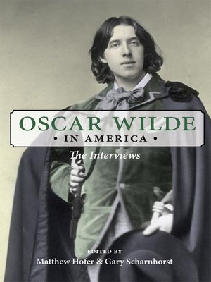 cover image of Oscar Wilde in America