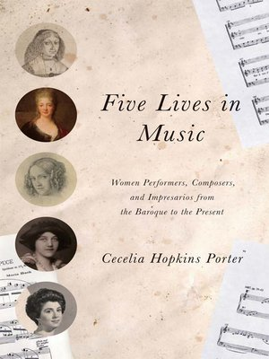 cover image of Five Lives in Music