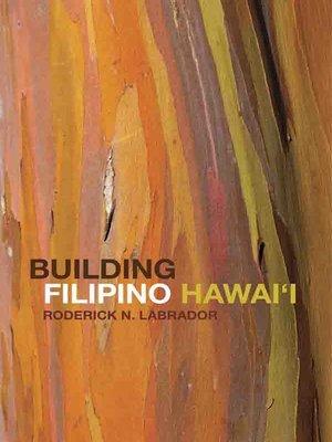 cover image of Building Filipino Hawai'i
