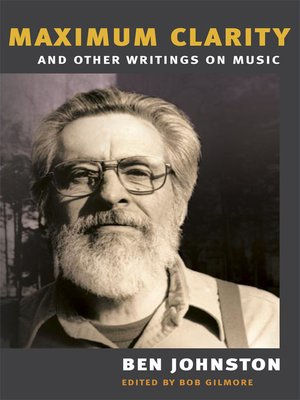 """cover image of """"MAXIMUM CLARITY"""" AND OTHER WRITINGS ON MUSIC"""