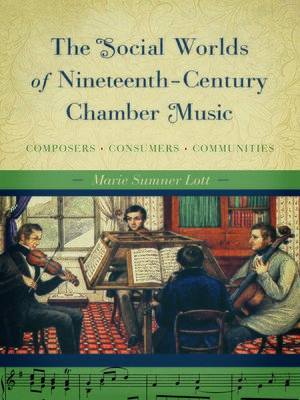 cover image of The Social Worlds of Nineteenth-Century Chamber Music