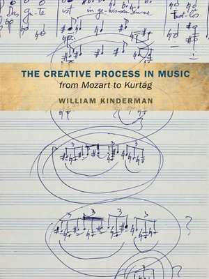 cover image of The Creative Process in Music from Mozart to Kurtag