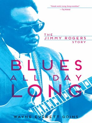 cover image of Blues All Day Long