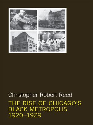 cover image of The Rise of Chicago's Black Metropolis, 1920-1929