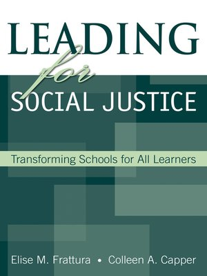 cover image of Leading for Social Justice