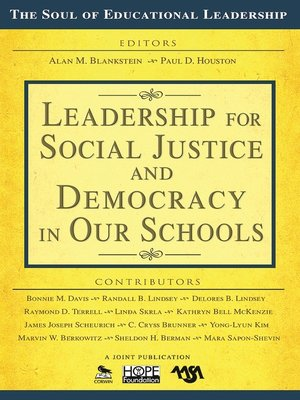cover image of Leadership for Social Justice and Democracy in Our Schools