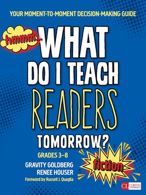 cover image of What Do I Teach Readers Tomorrow? Fiction, Grades 3-8