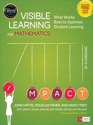 cover image of Visible Learning for Mathematics, Grades K-12