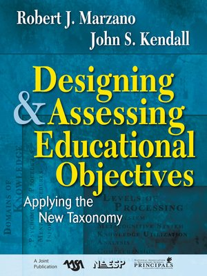 cover image of Designing and Assessing Educational Objectives