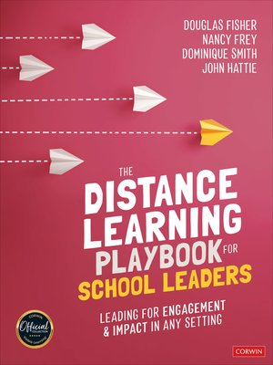 cover image of The Distance Learning Playbook for School Leaders