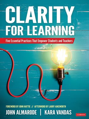 cover image of Clarity for Learning