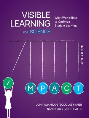 cover image of Visible Learning for Science, Grades K-12