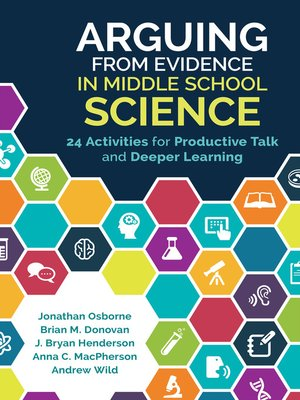 cover image of Arguing From Evidence in Middle School Science