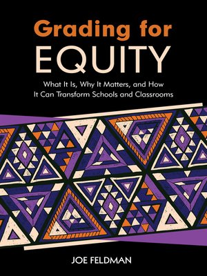 cover image of Grading for Equity