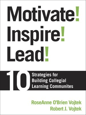 cover image of Motivate! Inspire! Lead!