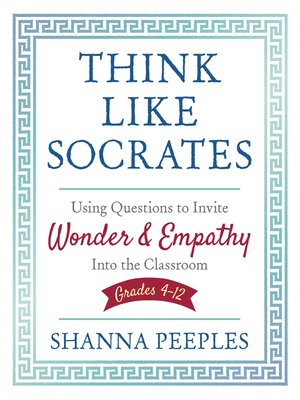cover image of Think Like Socrates