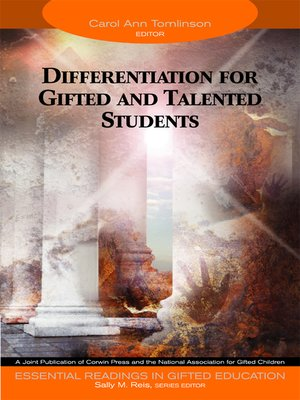 cover image of Differentiation for Gifted and Talented Students