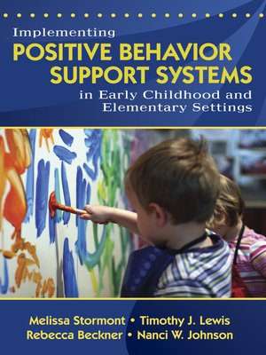 cover image of Implementing Positive Behavior Support Systems in Early Childhood and Elementary Settings