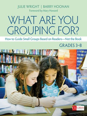 cover image of What Are You Grouping For?, Grades 3-8