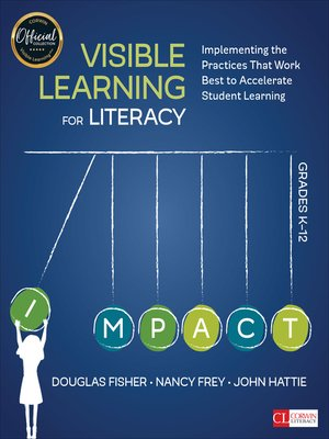 cover image of Visible Learning for Literacy, Grades K-12
