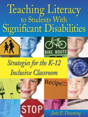 cover image of Teaching Literacy to Students with Significant Disabilities