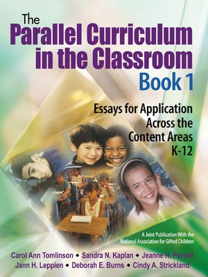 cover image of The Parallel Curriculum in the Classroom, Book 1