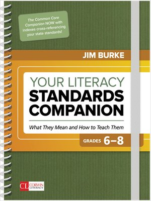 cover image of Your Literacy Standards Companion, Grades 6-8