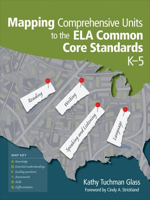 cover image of Mapping Comprehensive Units to the ELA Common Core Standards, K–5