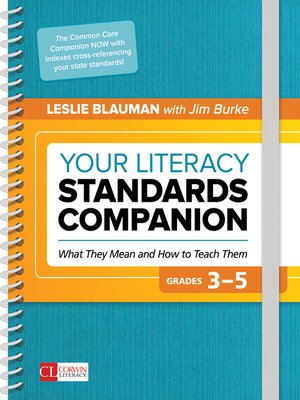 cover image of Your Literacy Standards Companion, Grades 3-5