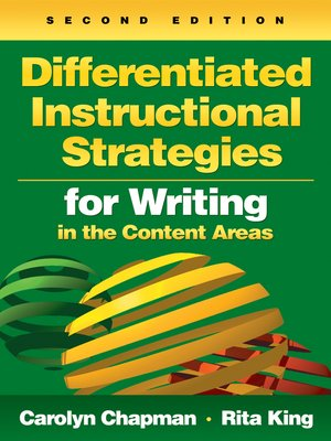 cover image of Differentiated Instructional Strategies for Writing in the Content Areas